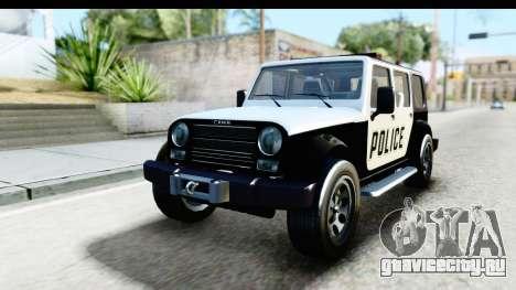 Canis Mesa Police для GTA San Andreas