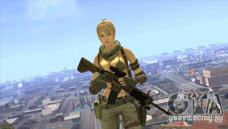 HK416A5 для GTA San Andreas третий скриншот