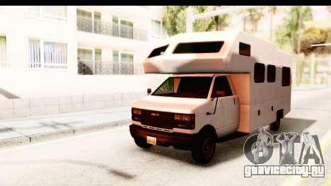GTA 5 Camper для GTA San Andreas
