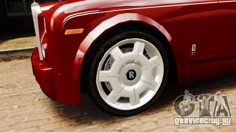Rolls-Royce Phantom LWB V2.0 для GTA 4 вид сзади слева