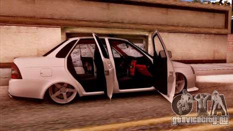 Lada Priora Autozvuk v.2 для GTA San Andreas вид справа