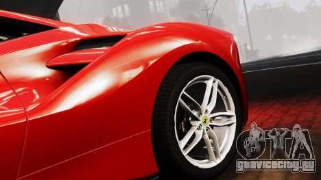Ferrari 488 GTB 2016 для GTA 4 вид справа