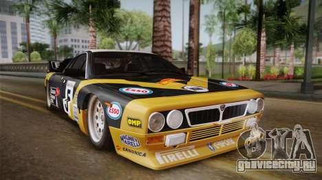 Lancia Rally 037 Stradale (SE037) 1982 Dirt PJ2 для GTA San Andreas