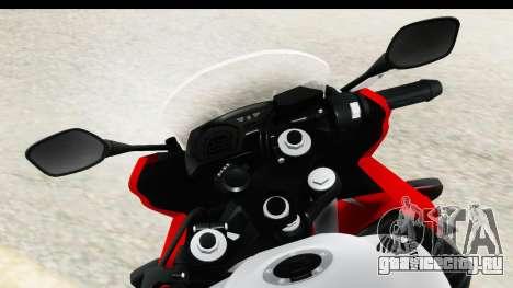 Honda CBR650F для GTA San Andreas вид справа
