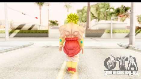 Dragon Ball Xenoverse Broly SSJ2 для GTA San Andreas третий скриншот