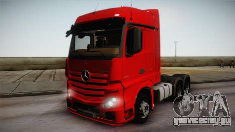 Mercedes-Benz Actros Mp4 6x4 v2.0 Bigspace для GTA San Andreas