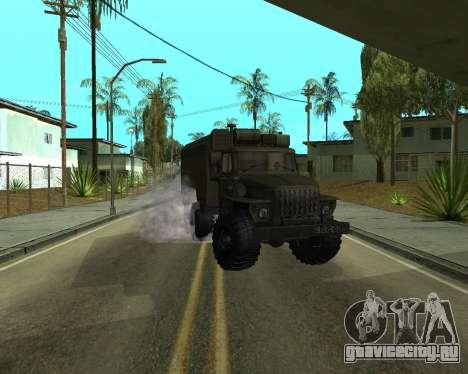 Ural 4320 Armenian для GTA San Andreas