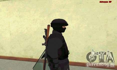 Скин SWAT из GTA 5 для GTA San Andreas пятый скриншот