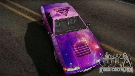20egt Elegy PaintJob 5 для GTA San Andreas вид сзади слева