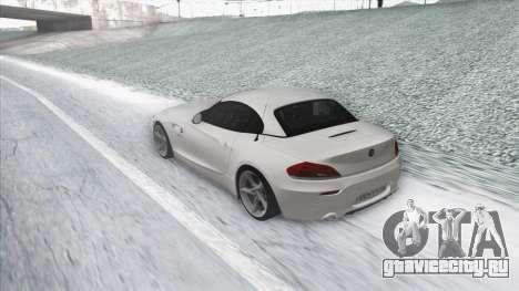 BMW Z4 для GTA San Andreas вид справа