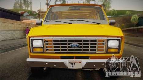 Ford E-150 Commercial Van 1982 2.0 IVF для GTA San Andreas вид справа