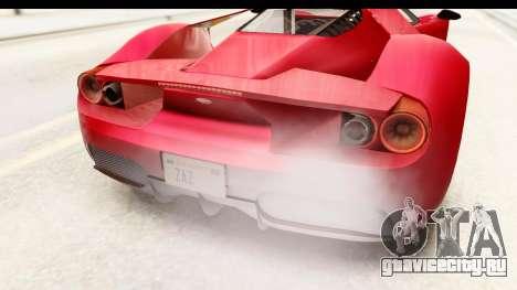 GTA 5 Vapid FMJ IVF для GTA San Andreas вид сбоку