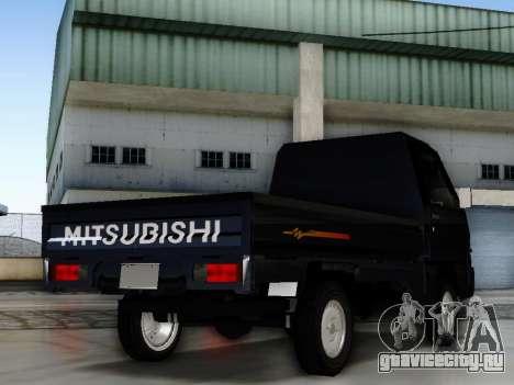 Mitsubishi Colt L300 Pickup для GTA San Andreas вид слева