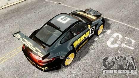 Porsche Rallye Vespas 911 GT3 RSR для GTA 4 вид сзади слева