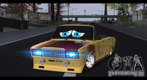 ВАЗ 2107 Бедняга для GTA San Andreas