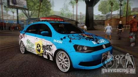 Volkswagen Voyage G6 Pmerj Graffiti для GTA San Andreas