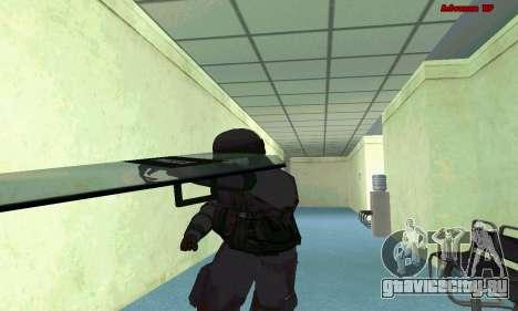 Скин SWAT из GTA 5 (PS3) для GTA San Andreas седьмой скриншот
