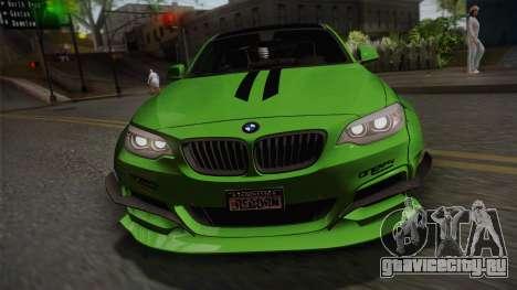BMW M235i 69Works для GTA San Andreas вид справа
