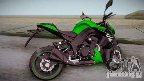 Kawasaki Z1000 2013 для GTA San Andreas вид слева