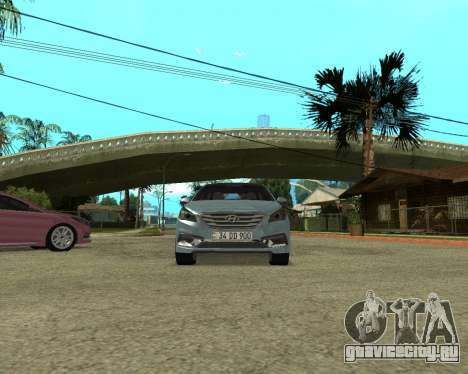Hyundai Sonata Armenian для GTA San Andreas вид справа