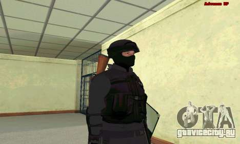 Скин SWAT из GTA 5 для GTA San Andreas второй скриншот