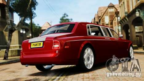 Rolls-Royce Phantom LWB V2.0 для GTA 4 вид слева