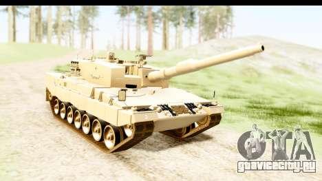 Leopard 2A4 для GTA San Andreas