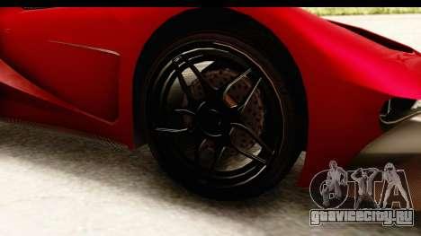GTA 5 Vapid FMJ IVF для GTA San Andreas вид сзади