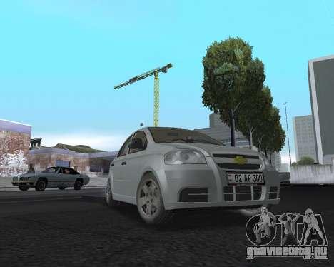 Chevrolet Aveo Armenian для GTA San Andreas