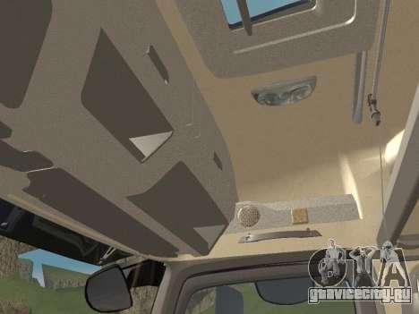 Mercedes-Benz Actros Mp4 6x4 v2.0 Bigspace для GTA San Andreas вид сбоку