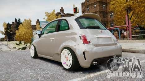 Fiat 500RB для GTA 4 вид слева