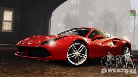 Ferrari 488 GTB 2016 для GTA 4 вид сзади