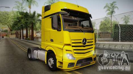 Mercedes-Benz Actros Mp4 4x2 v2.0 Gigaspace v2 для GTA San Andreas
