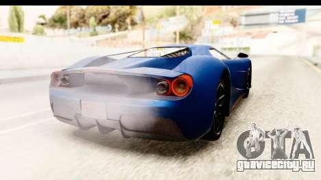 GTA 5 Vapid FMJ SA Style для GTA San Andreas вид слева