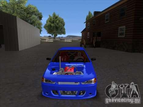 VAZ 2114 Sport для GTA San Andreas вид сбоку