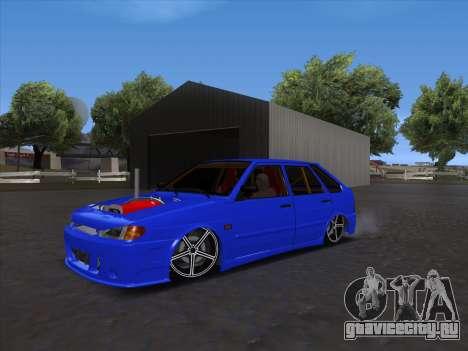VAZ 2114 Sport для GTA San Andreas вид сзади слева