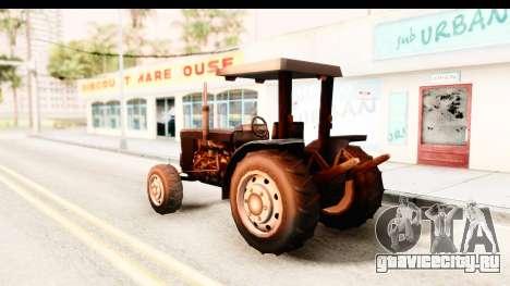 Modern Tractor для GTA San Andreas вид слева