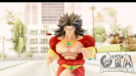 Dragon Ball Xenoverse Broly SSJ4 для GTA San Andreas