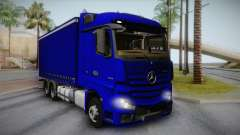 Mercedes-Benz Actros Mp4 v2.0 Tandem Steam для GTA San Andreas