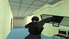 Скин SWAT из GTA 5 (PS3)