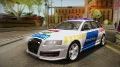 Audi RS6 Hungarian Police для GTA San Andreas