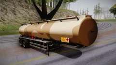 GTA 5 Army Tank Trailer IVF для GTA San Andreas