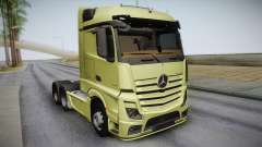 Mercedes-Benz Actros Mp4 6x4 v2.0 Steamspace для GTA San Andreas