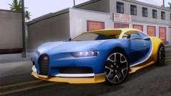 Bugatti Chiron 2017 v2.5 для GTA San Andreas