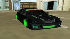 BMW 750 E38 Hamann Turbo Sports для GTA Vice City
