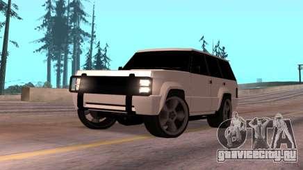 Huntley Rover для GTA San Andreas