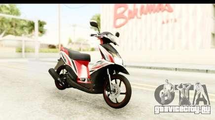 Yamaha Mio GT Standart для GTA San Andreas