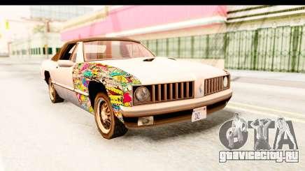 Stallion Sticker Bomb для GTA San Andreas