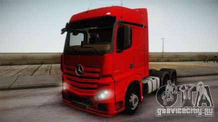 Mercedes-Benz Actros Mp4 6x4 v2.0 Bigspace для GTA San Andreas
