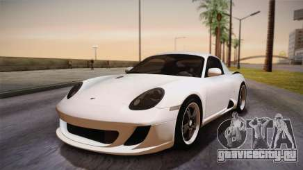 Ruf RK Coupe (987) 2007 HQLM для GTA San Andreas